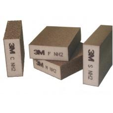 3М Шлифовальная Губка, четырехсторонняя, Мягкая