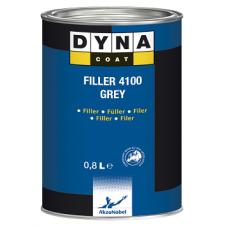 DYNA Комплект Грунт 4100 серый /0.8л+ отв 0,2