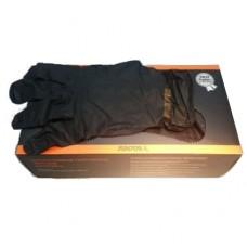 Перчатки нитрил черный , размер L