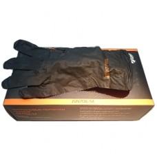 Перчатки нитрил черный , размер M