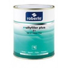 ROBERLO Грунт 1л  MULTYFILLER PLUS Z1, акрил,светл.сер.,(4:1) + Отвердитель для грунта (MULTYFILLER) F500 0,251 л