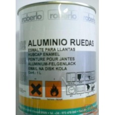 ROBERLO  Краска  1К для дисков  Aluminio Ruedas ,1л