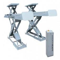 Подъемник ножничный для развала-схождения WiederKraft WDK-506