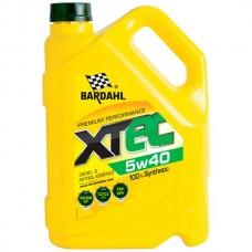 Масло энергосберегающее XTЕC  5W40    5л  /зеленая гамма
