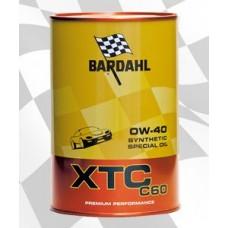 Масло моторное XTC C60  0W40 1L 24PZ / BARDAHL АВТО