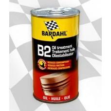 Присадка в моторное масло BARDAHL №2 восстанавливающая  Замораживает процесс износа.Уменьшает расход масла/B2 OIL TREATMENT 300 ML 24PZ