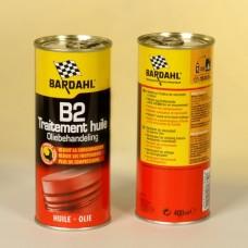 Присадка в моторное масло BARDAHL №2 восстанавливающая  Замораживает процесс износа.Уменьшает расход масла/B2 OIL TREATMENT 400 ML 24PZ
